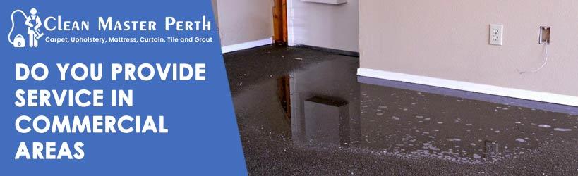 Commercial Flood Water Damage Carpet Restoration