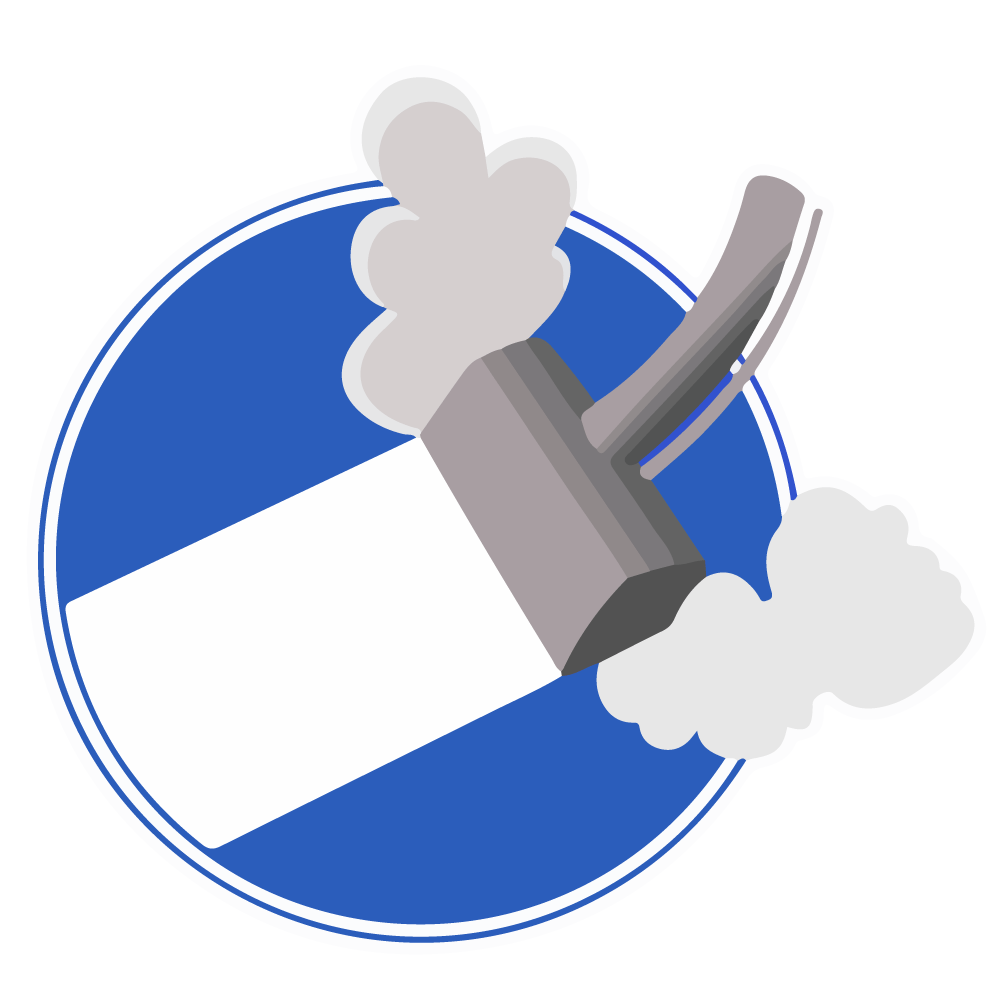 Carpet Steam Cleaning Icon